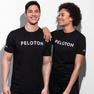 Peloton Century Club Crew Neck Tee Black Small